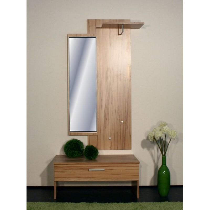 Appendiabiti Specchio E Cappelliera Alexander Faggio Mdm Arredo Mobili Complementi E Accessori Di Design