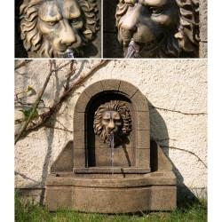 Fontana Sterna da Giardino Testa Leone