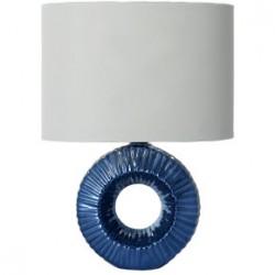 Lampada Ceramica Azurro