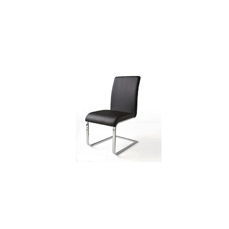 6 sedie per tavolo nere mdm arredo mobili complementi - Sedie per tavolo fratino ...