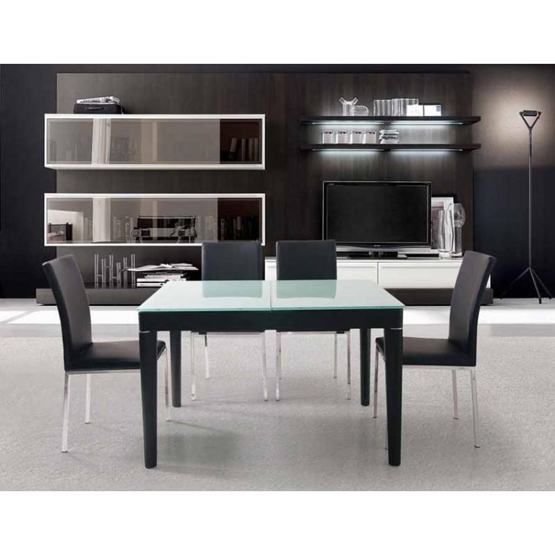 Tavolo da pranzo allungabile wenge mdm arredo mobili complementi e accessori di design - Altezza tavolo da pranzo ...