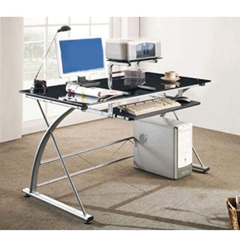 Scrivanie porta pc e stampante scrivania per computer con cassetto estraibile rovere mobile - Scrivania porta computer ikea ...