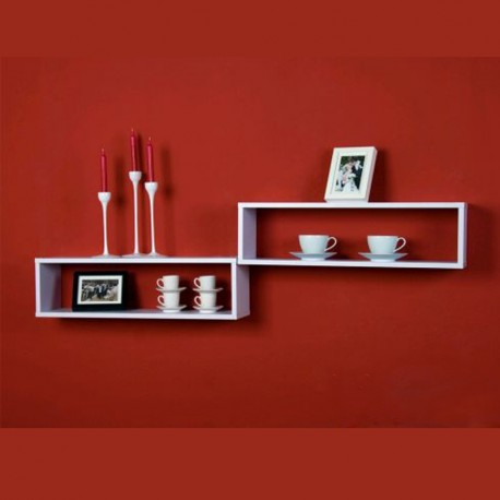 Set Mensole Bianche Design