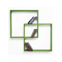 Mensola Porta CD/DVD Verde