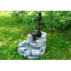 Fontana Da Giardino con Pompa a Mano