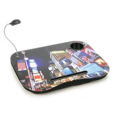 Cuscino Porta Notebook - Ipad - PC Portatile New York