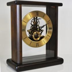 Orologio in Legno Massiccio da Tavolo