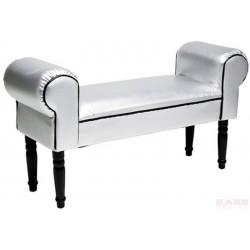Panca boudoir Silver