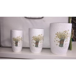 set 3 vasi