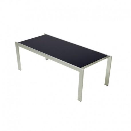 Tavolino da Sala in Vetro Nero